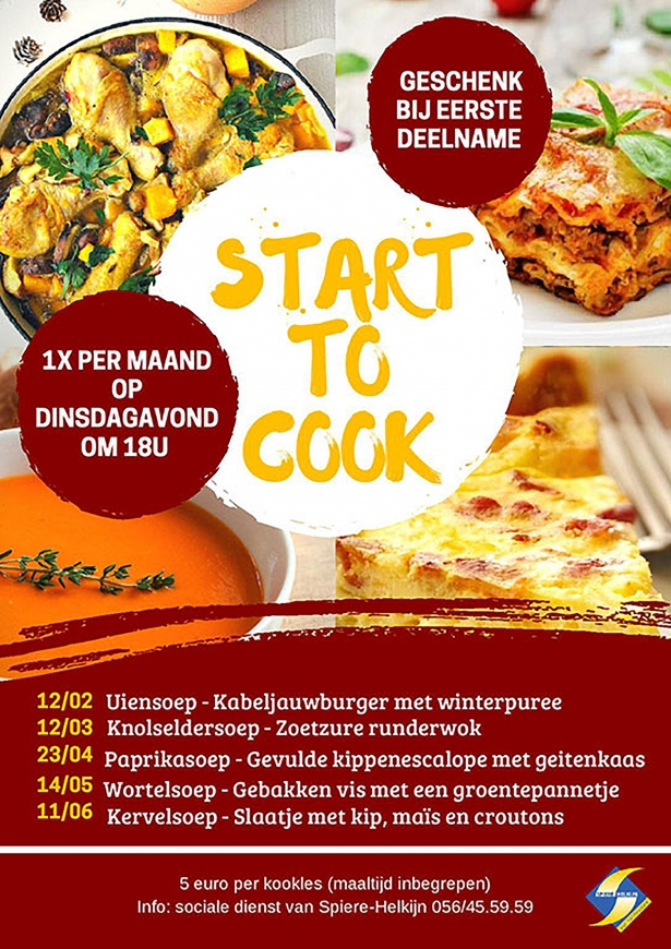 Start to cook 2019